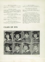 Page 15, 1951 Edition, Concord High School - Spider Web Yearbook (Concord, NC) online yearbook collection