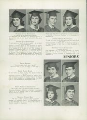 Page 16, 1951 Edition, Concord High School - Spider Web Yearbook (Concord, NC) online yearbook collection