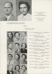 Page 12, 1952 Edition, Concord High School - Spider Web Yearbook (Concord, NC) online yearbook collection