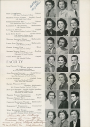 Page 13, 1952 Edition, Concord High School - Spider Web Yearbook (Concord, NC) online yearbook collection