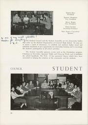 Page 14, 1952 Edition, Concord High School - Spider Web Yearbook (Concord, NC) online yearbook collection