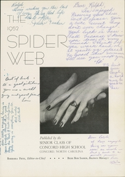 Page 5, 1952 Edition, Concord High School - Spider Web Yearbook (Concord, NC) online yearbook collection