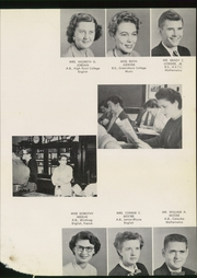 Page 17, 1956 Edition, Concord High School - Spider Web Yearbook (Concord, NC) online yearbook collection