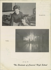 Page 7, 1956 Edition, Concord High School - Spider Web Yearbook (Concord, NC) online yearbook collection