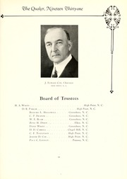 Page 15, 1931 Edition, Guilford College - Quaker Yearbook (Greensboro, NC) online yearbook collection