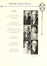 Page 17, 1931 Edition, Guilford College - Quaker Yearbook (Greensboro, NC) online yearbook collection