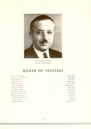 Page 15, 1939 Edition, Guilford College - Quaker Yearbook (Greensboro, NC) online yearbook collection