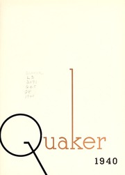 Page 7, 1940 Edition, Guilford College - Quaker Yearbook (Greensboro, NC) online yearbook collection
