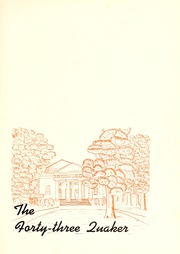 Page 5, 1943 Edition, Guilford College - Quaker Yearbook (Greensboro, NC) online yearbook collection