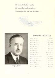 Page 10, 1944 Edition, Guilford College - Quaker Yearbook (Greensboro, NC) online yearbook collection