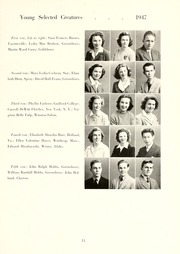 Page 17, 1944 Edition, Guilford College - Quaker Yearbook (Greensboro, NC) online yearbook collection