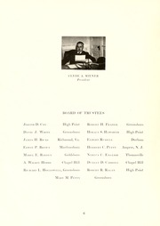 Page 10, 1945 Edition, Guilford College - Quaker Yearbook (Greensboro, NC) online yearbook collection