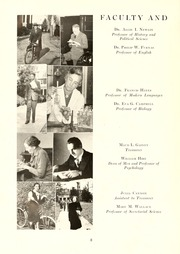 Page 12, 1945 Edition, Guilford College - Quaker Yearbook (Greensboro, NC) online yearbook collection