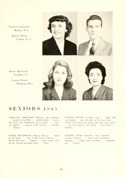 Page 17, 1945 Edition, Guilford College - Quaker Yearbook (Greensboro, NC) online yearbook collection