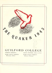 Page 7, 1945 Edition, Guilford College - Quaker Yearbook (Greensboro, NC) online yearbook collection