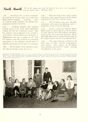 Page 11, 1949 Edition, Guilford College - Quaker Yearbook (Greensboro, NC) online yearbook collection