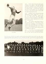 Page 12, 1949 Edition, Guilford College - Quaker Yearbook (Greensboro, NC) online yearbook collection