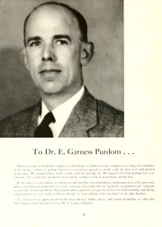 Page 10, 1952 Edition, Guilford College - Quaker Yearbook (Greensboro, NC) online yearbook collection