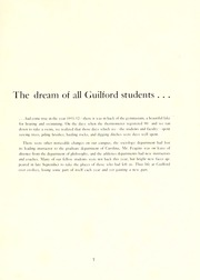Page 11, 1952 Edition, Guilford College - Quaker Yearbook (Greensboro, NC) online yearbook collection