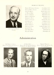 Page 14, 1952 Edition, Guilford College - Quaker Yearbook (Greensboro, NC) online yearbook collection