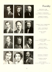 Page 16, 1952 Edition, Guilford College - Quaker Yearbook (Greensboro, NC) online yearbook collection