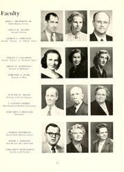 Page 17, 1952 Edition, Guilford College - Quaker Yearbook (Greensboro, NC) online yearbook collection