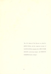 Page 7, 1952 Edition, Guilford College - Quaker Yearbook (Greensboro, NC) online yearbook collection