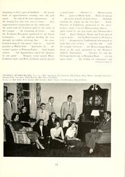 Page 15, 1953 Edition, Guilford College - Quaker Yearbook (Greensboro, NC) online yearbook collection