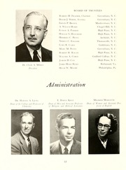 Page 16, 1953 Edition, Guilford College - Quaker Yearbook (Greensboro, NC) online yearbook collection