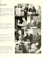 Page 17, 1953 Edition, Guilford College - Quaker Yearbook (Greensboro, NC) online yearbook collection