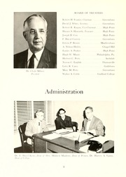 Page 12, 1955 Edition, Guilford College - Quaker Yearbook (Greensboro, NC) online yearbook collection