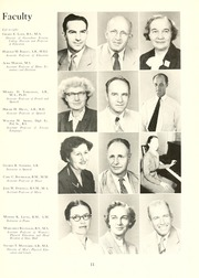 Page 15, 1955 Edition, Guilford College - Quaker Yearbook (Greensboro, NC) online yearbook collection