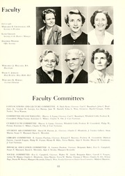 Page 17, 1955 Edition, Guilford College - Quaker Yearbook (Greensboro, NC) online yearbook collection