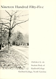 Page 9, 1955 Edition, Guilford College - Quaker Yearbook (Greensboro, NC) online yearbook collection