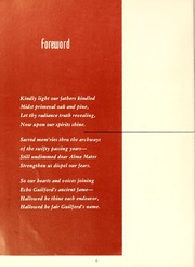 Page 10, 1956 Edition, Guilford College - Quaker Yearbook (Greensboro, NC) online yearbook collection