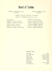 Page 6, 1956 Edition, Guilford College - Quaker Yearbook (Greensboro, NC) online yearbook collection