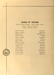 Page 10, 1957 Edition, Guilford College - Quaker Yearbook (Greensboro, NC) online yearbook collection