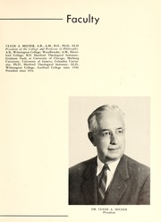 Page 11, 1957 Edition, Guilford College - Quaker Yearbook (Greensboro, NC) online yearbook collection
