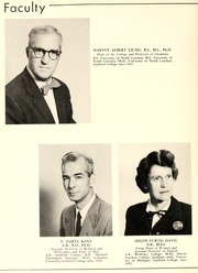 Page 12, 1957 Edition, Guilford College - Quaker Yearbook (Greensboro, NC) online yearbook collection