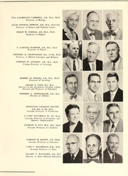 Page 13, 1957 Edition, Guilford College - Quaker Yearbook (Greensboro, NC) online yearbook collection