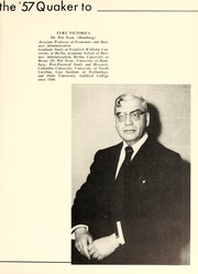 Page 17, 1957 Edition, Guilford College - Quaker Yearbook (Greensboro, NC) online yearbook collection