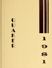 1981 Edition, Guilford College - Quaker Yearbook (Greensboro, NC)