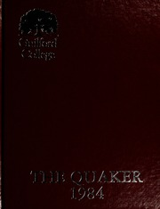 1984 Edition, Guilford College - Quaker Yearbook (Greensboro, NC)