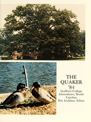 Page 5, 1984 Edition, Guilford College - Quaker Yearbook (Greensboro, NC) online yearbook collection