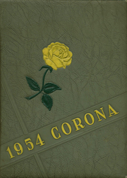 Page 1, 1954 Edition, St Stephens High School - Corona Yearbook (Hickory, NC) online yearbook collection
