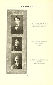 Page 10, 1924 Edition, Reidsville High School - Renocahi Yearbook (Reidsville, NC) online yearbook collection