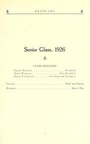 Page 15, 1926 Edition, Reidsville High School - Renocahi Yearbook (Reidsville, NC) online yearbook collection