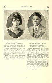 Page 16, 1926 Edition, Reidsville High School - Renocahi Yearbook (Reidsville, NC) online yearbook collection