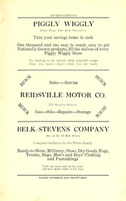 Page 7, 1926 Edition, Reidsville High School - Renocahi Yearbook (Reidsville, NC) online yearbook collection