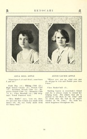 Page 16, 1927 Edition, Reidsville High School - Renocahi Yearbook (Reidsville, NC) online yearbook collection